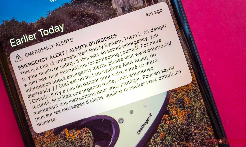 Iphone Emergency Alert