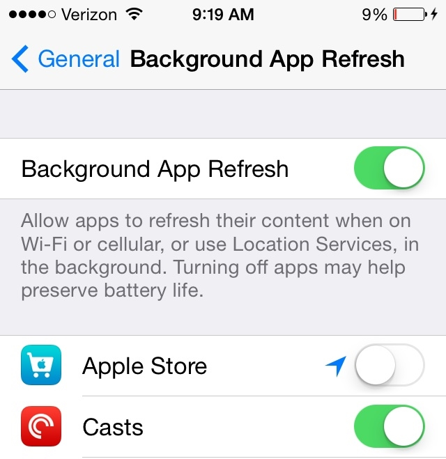 Background App Refresh Explained