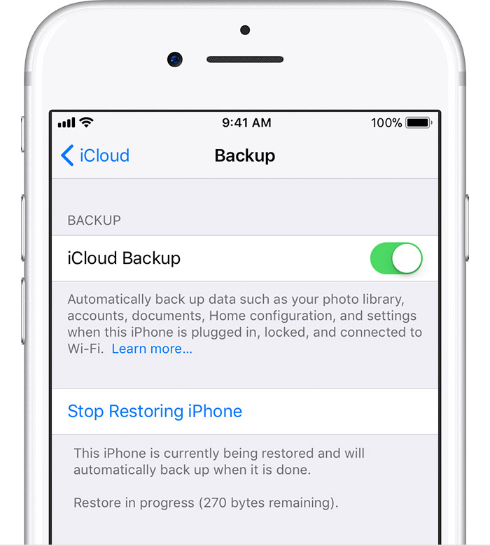 Ios Backup Iphone Restore