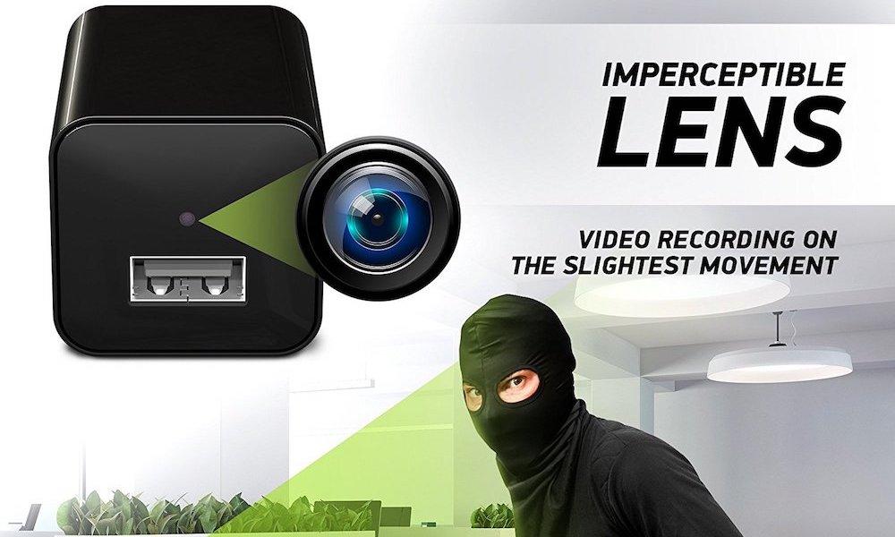 Mini Hd 1080p Usb Adapter Charger Hidden Spy Camera 1