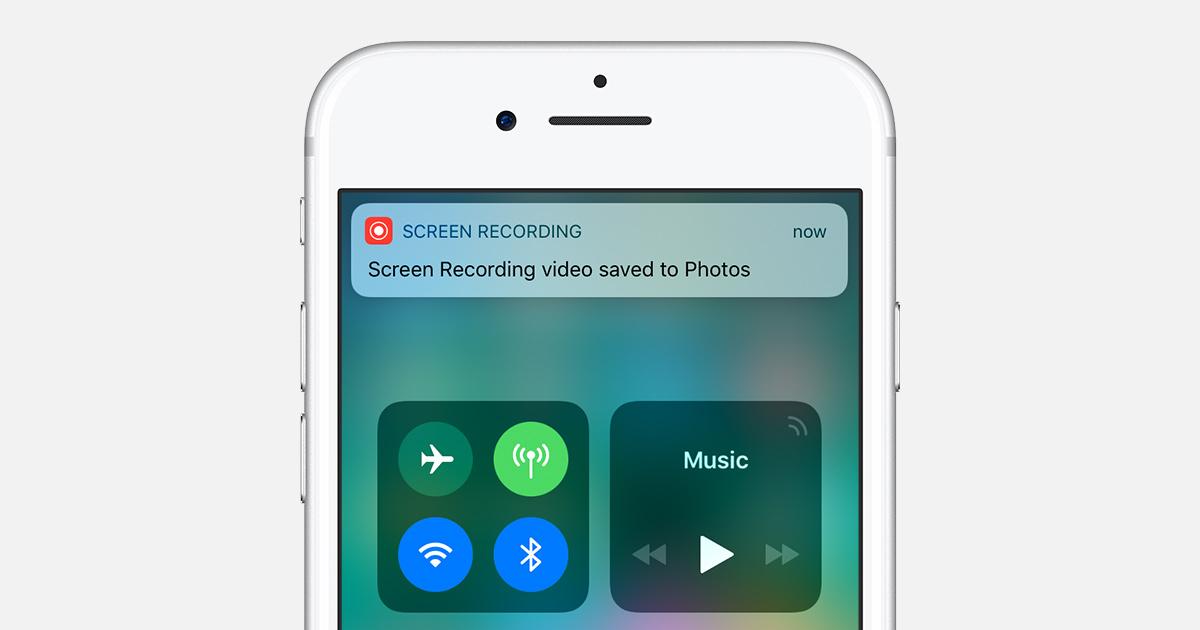 Ios 11 Screen Recording Iphone