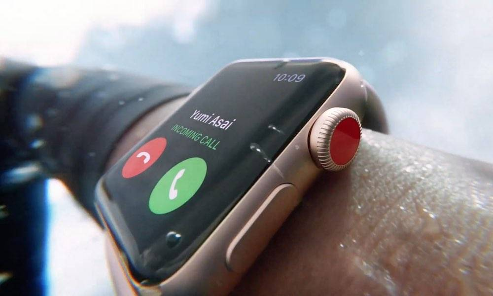 Apple Watch Series 3 Incoming Call 001