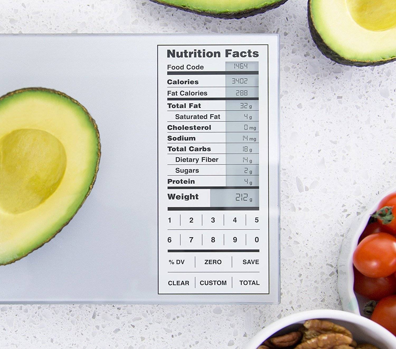 Greater Goods Nourish Digital Kitchen Food Scale