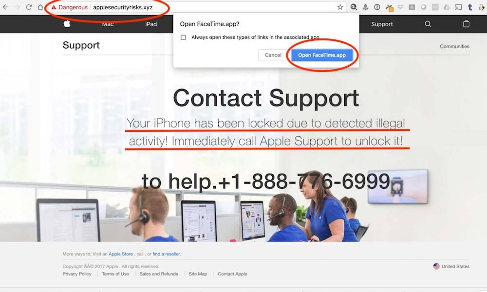 Ios Phishing Scam