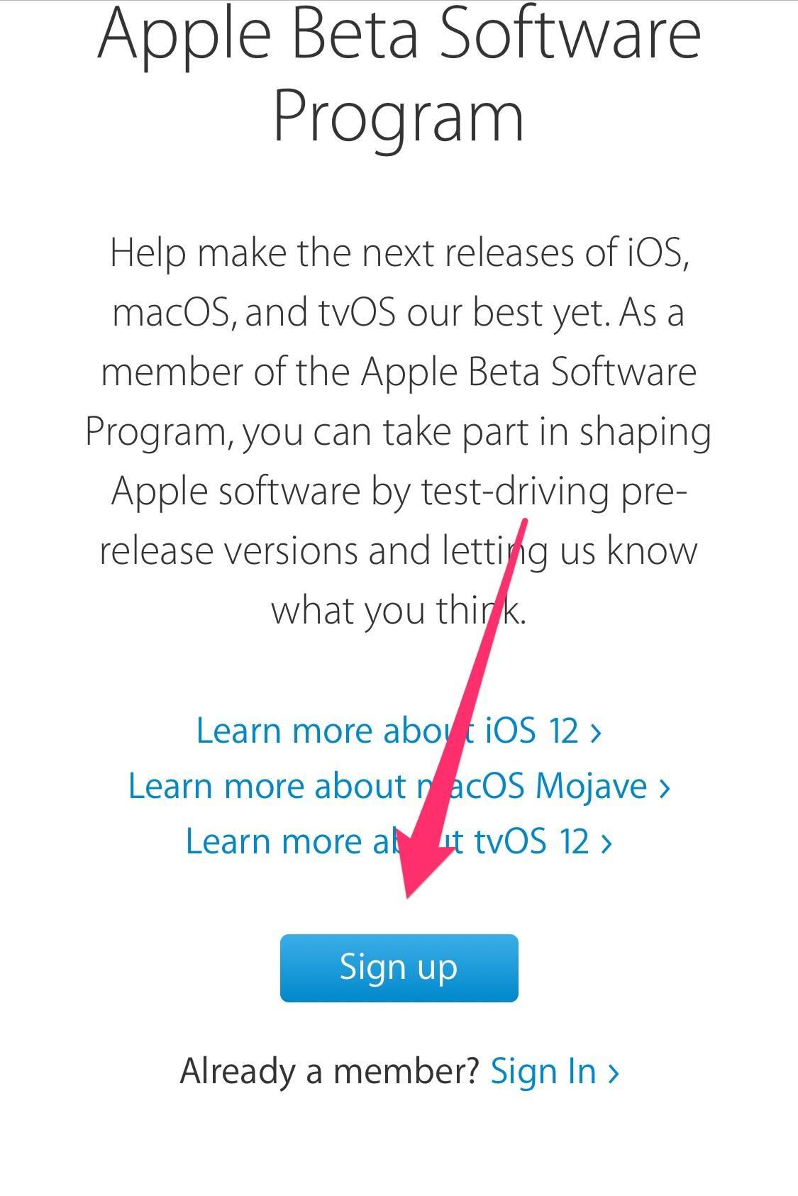 Install Ios 12 Public Beta