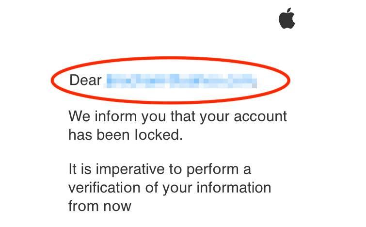 Fake Apple Phishing Email 2018 Copy 3