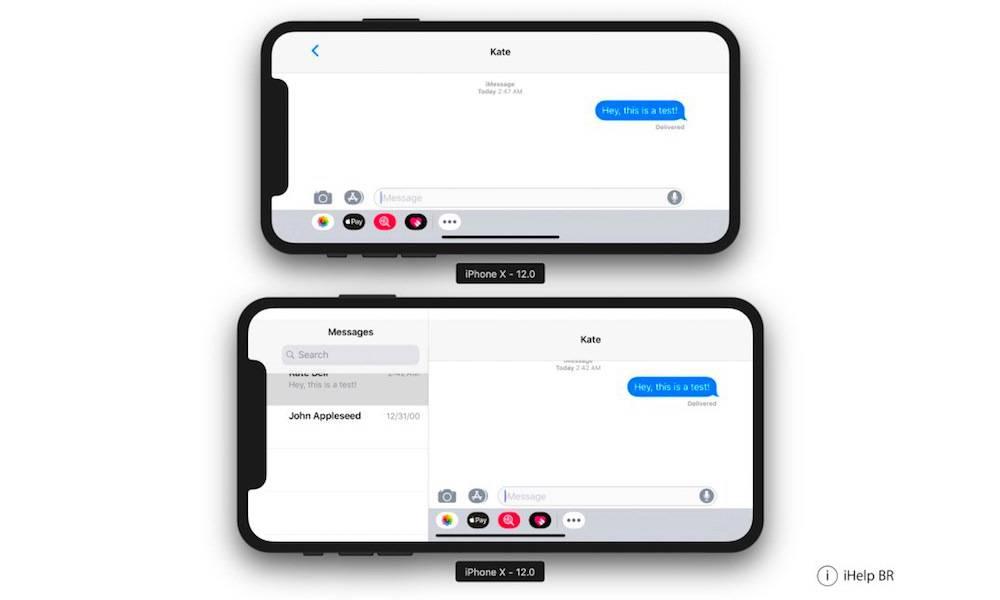 Iphone X Plus 2018 Landscape Mode