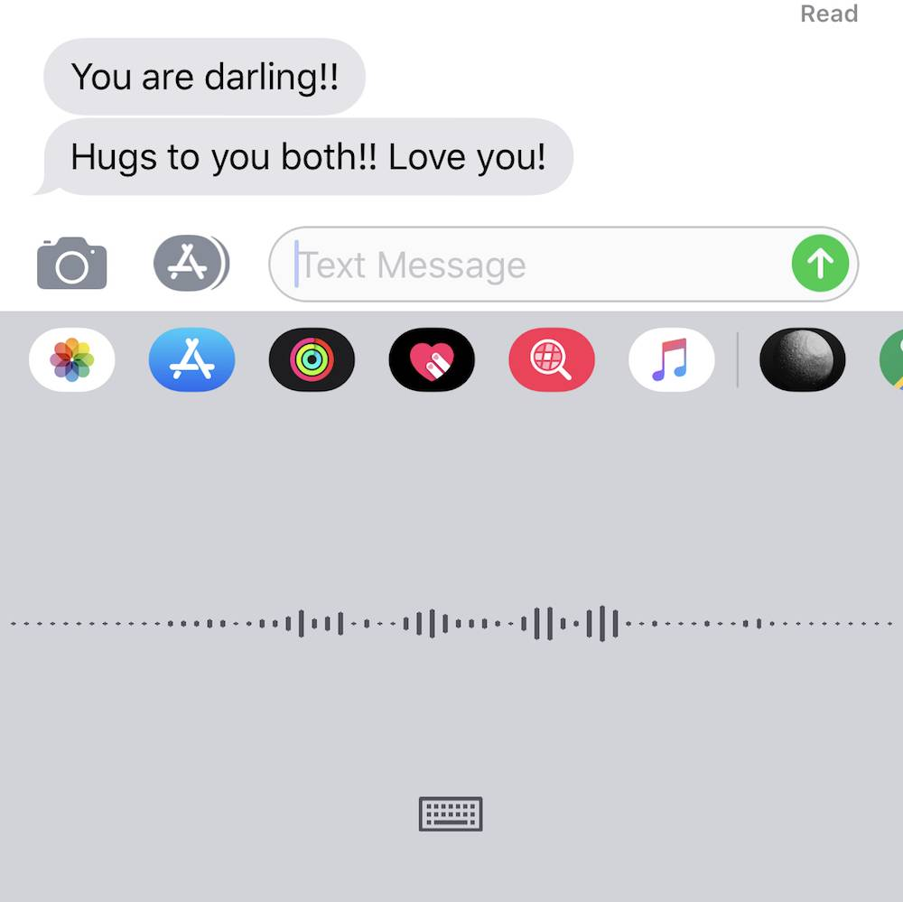 Siri Dictate Imessages
