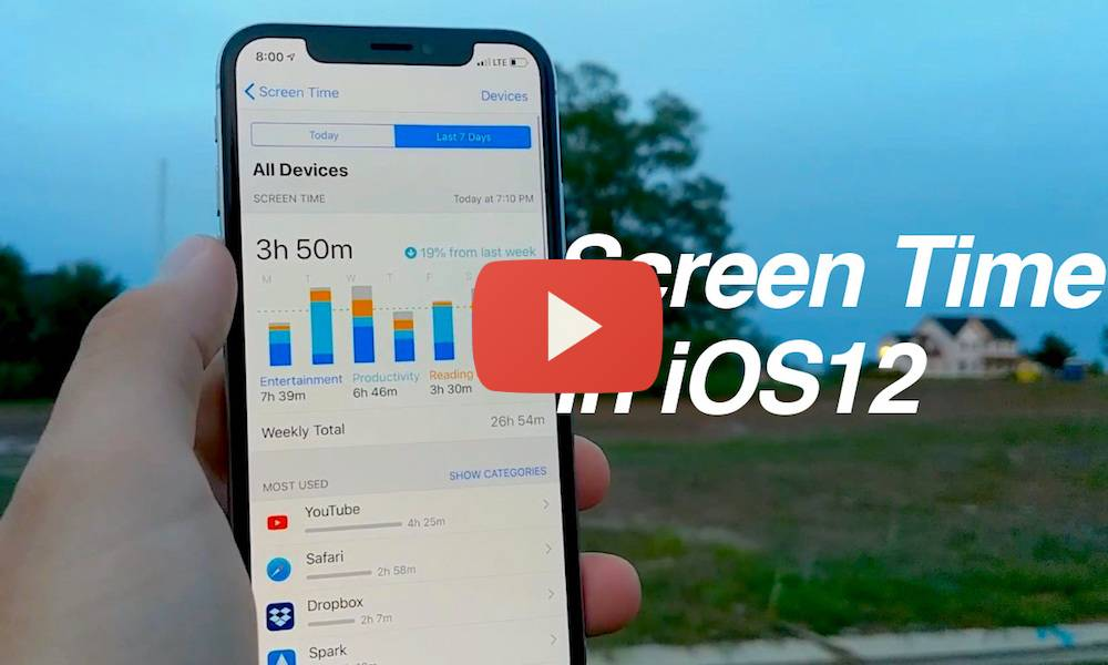 Screen Time iOS 12 Featured Image