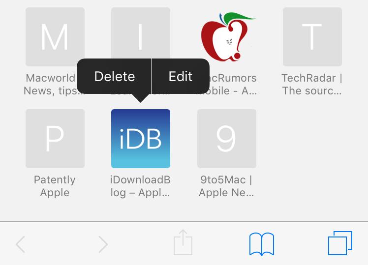 Ios Safari Delete Edit Favorites1