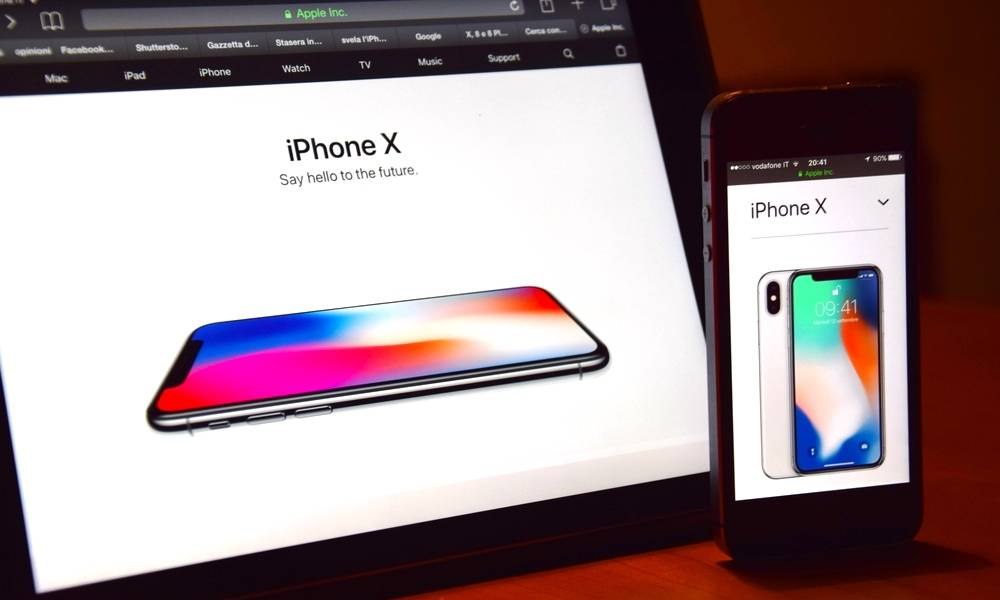 Apple Website Iphone X Ipad