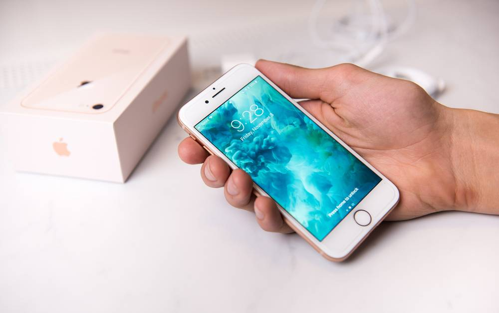 Iphone 8 Anna Hoychuk Shutterstock