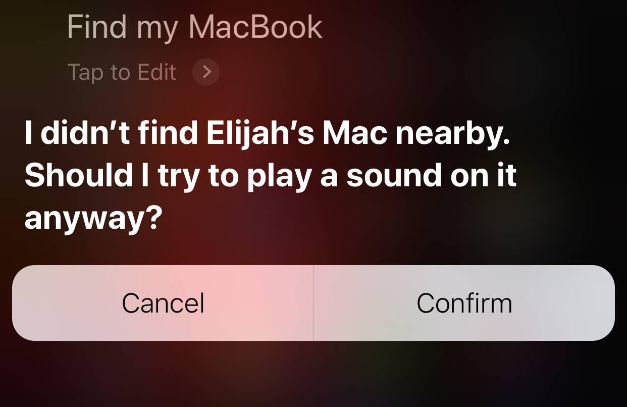 Find My Iphone Find My Mac Ios 12 Siri