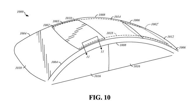 Apple Sunroof Patent Design