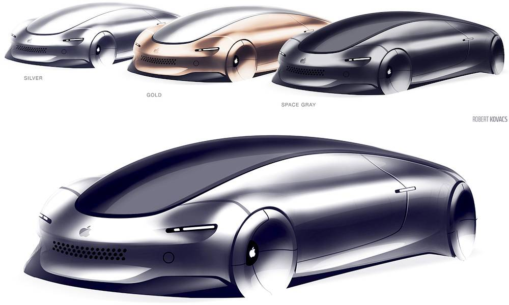 Apple Car Concept Design Robert Kovacs