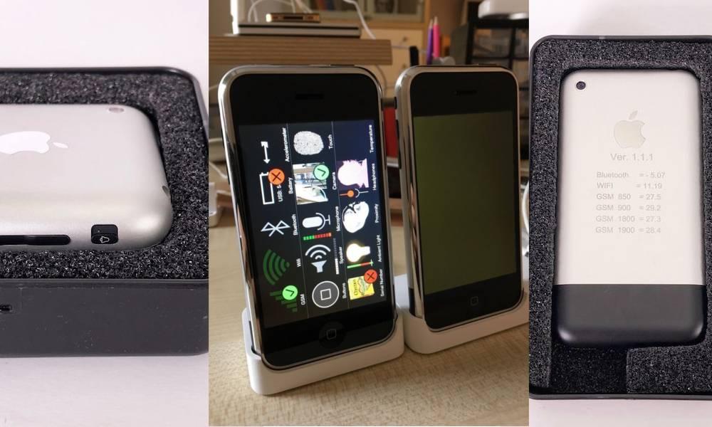 Ultra Rare Iphone Prototype Ebay Auction