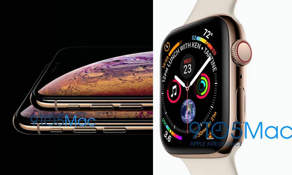New Apple Watch Series 4 Iphone Xs Leak