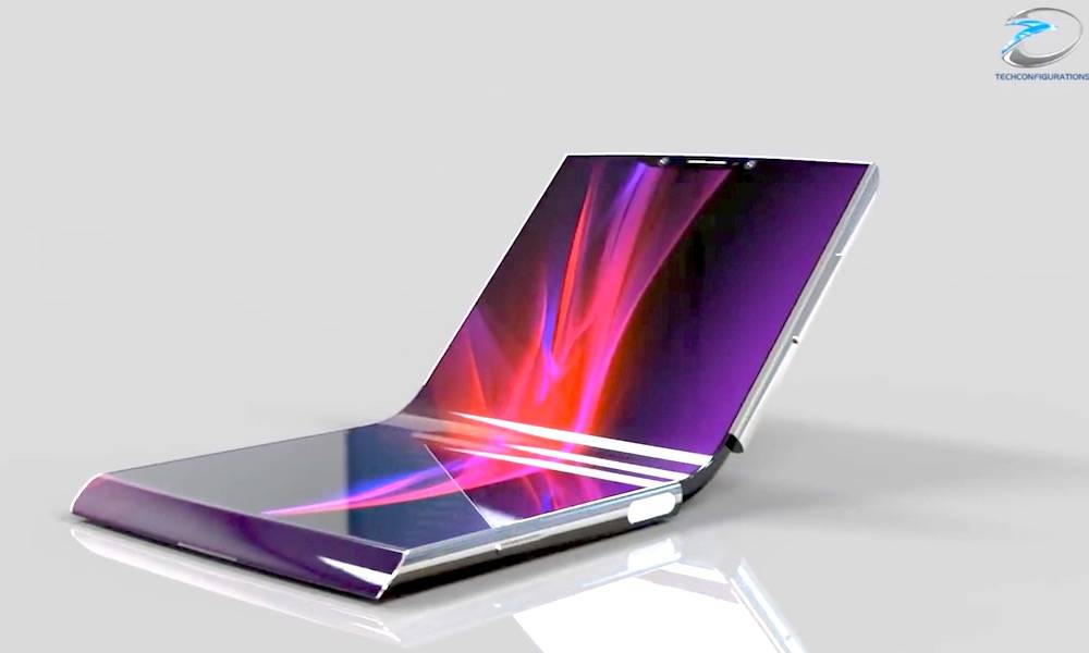 Foldable Smartphone Display