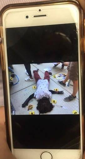 Airdrop Fake Crime Scene Photo