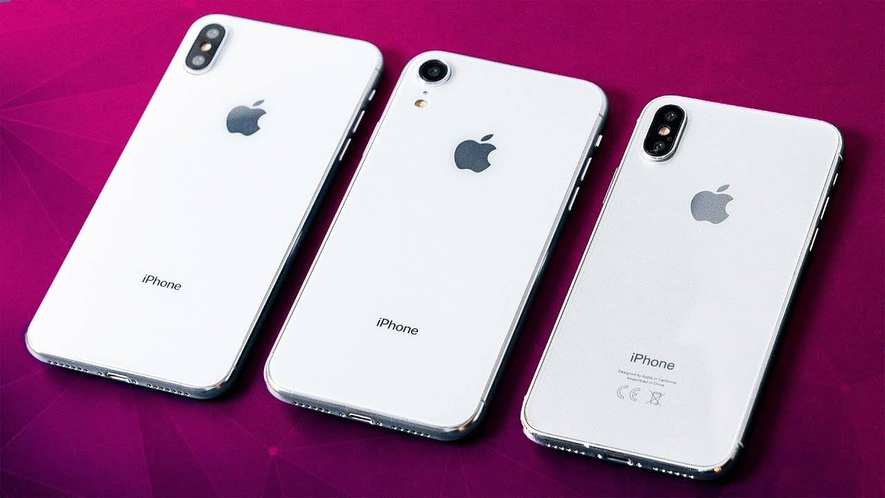 New Iphone Lineup 2018