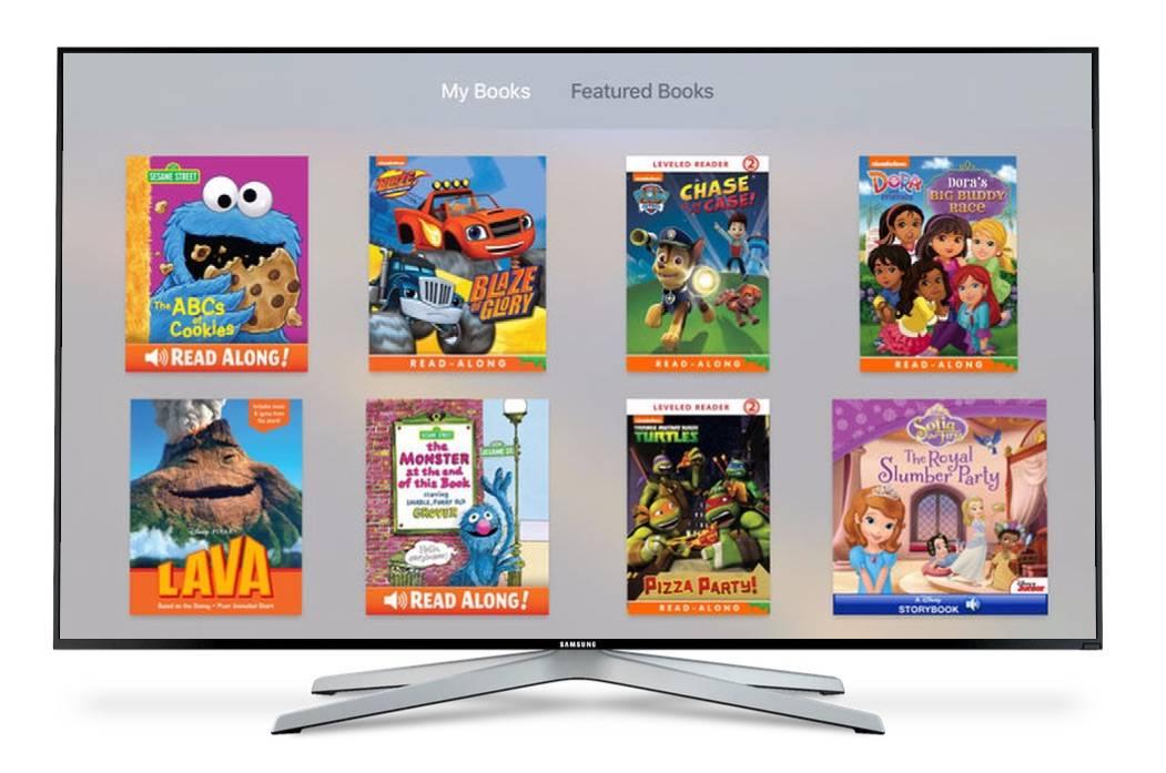 Ibooks Storytime Screen 1