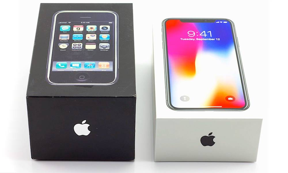 Iphone Evolution 2007 To 2018