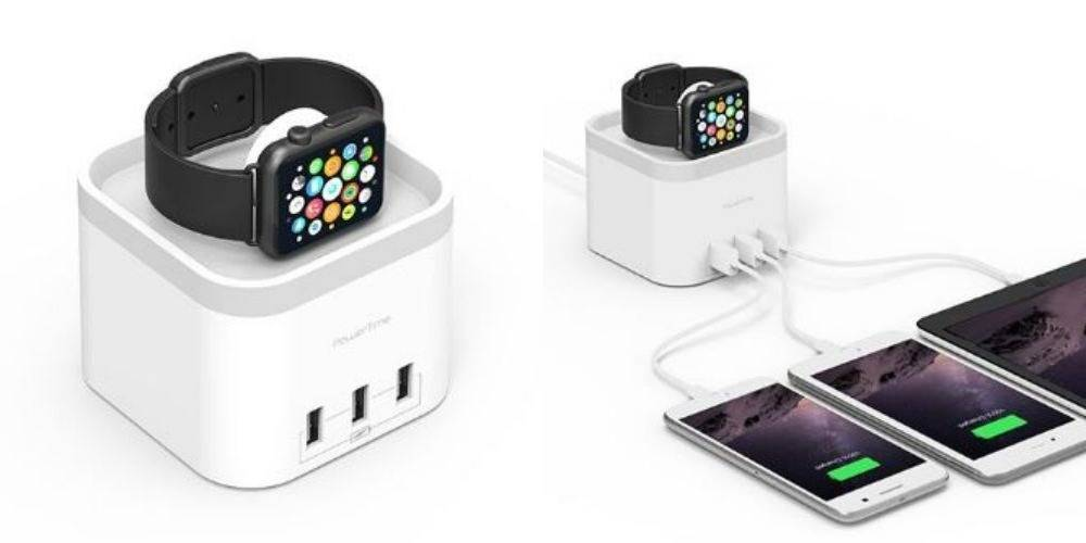 11 Powertime Apple Watch Charging Dock