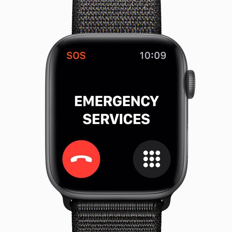 Apple Watch Series 4 Emergency Sos Apple Official