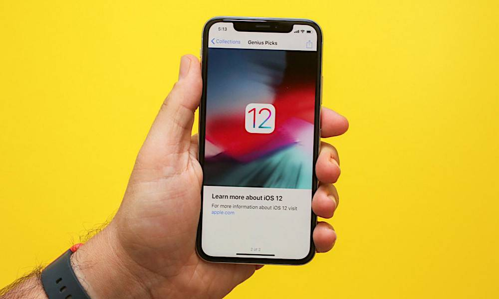 Apple iOS 12 rolls out tonight