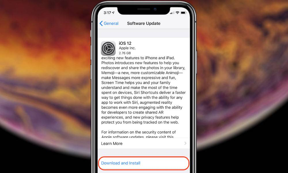 How To Download Ios 12