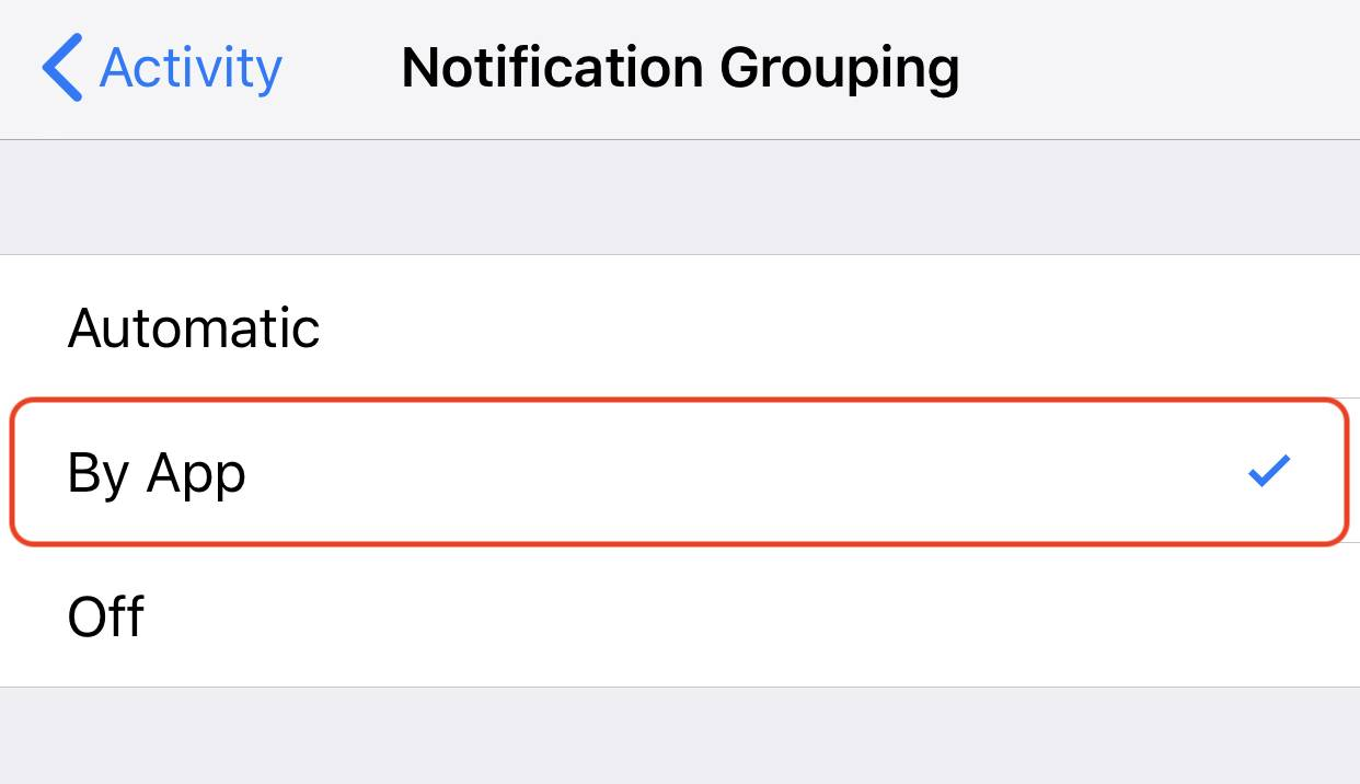 How To Stack Group Notifications In Ios 12 Iphone Ipad 5