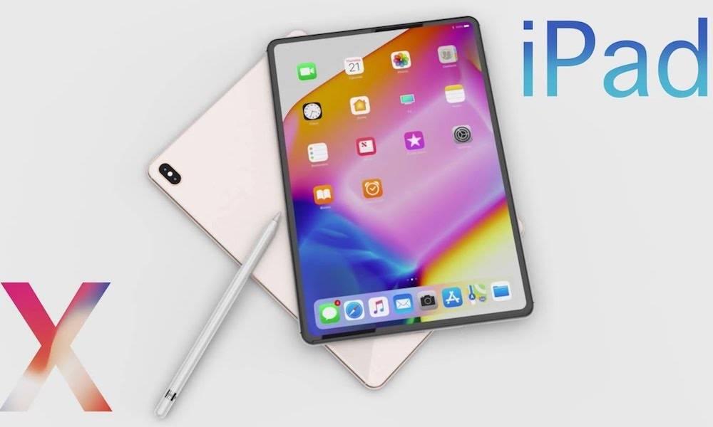 2018 Ipad Pro Concept