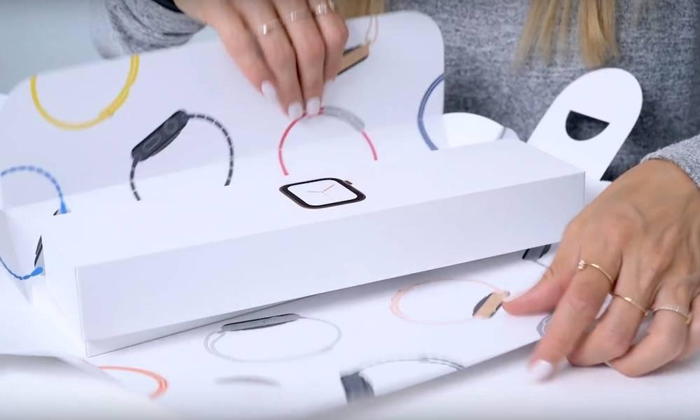 New Apple Watch Series 4 Packaging