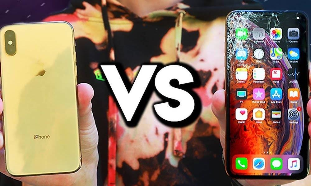 Iphone Xs Max Drop Test
