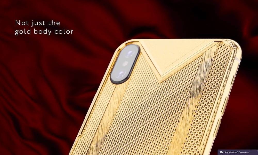 This Gold Covered Iphone Xs Max Can Be Yours For Just 15 000