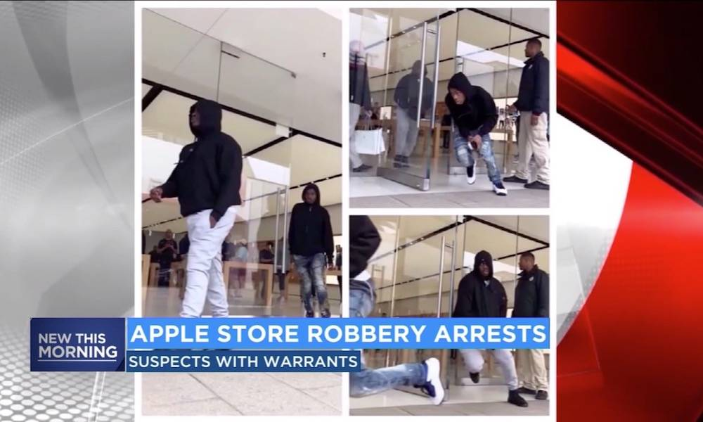 Apple Store Robberies California