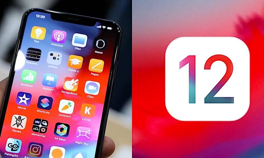 Ios 12 Iphone Xs
