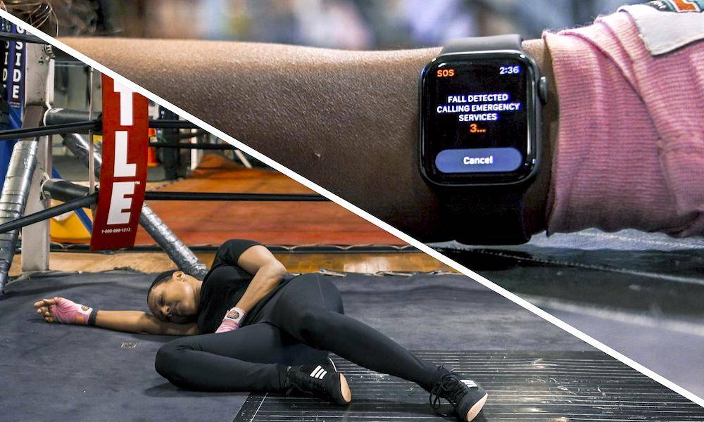 Apple Watch Series 4 Fall Detection