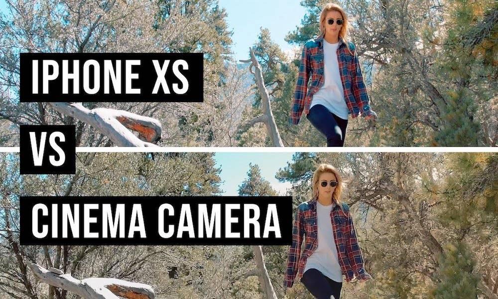 Iphone Xs Camera Vs Cinema Camera