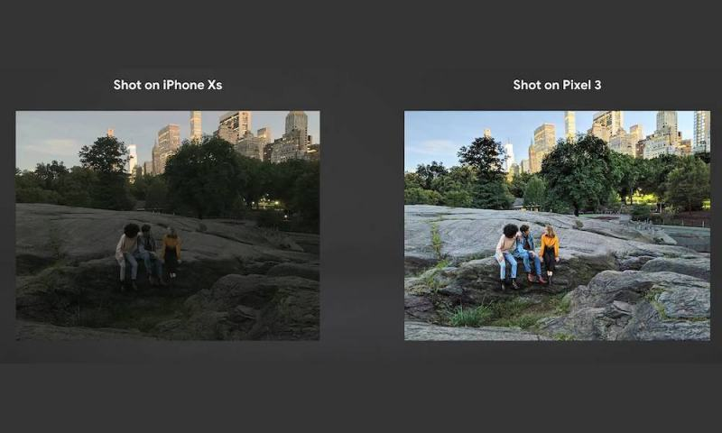 Why Google's Pixel 3, iPhone XS Camera Comparison Is Extremely Suspicious