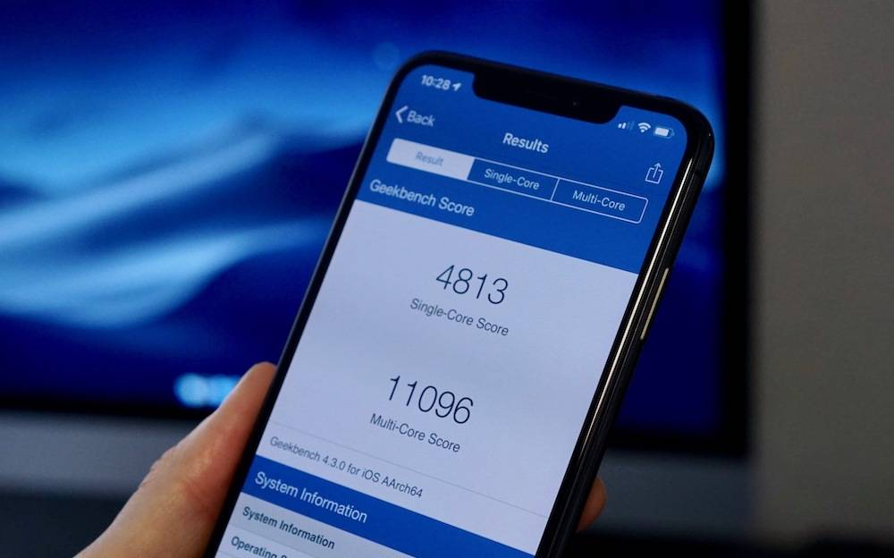 Iphone Xs Benchmark Speed Test