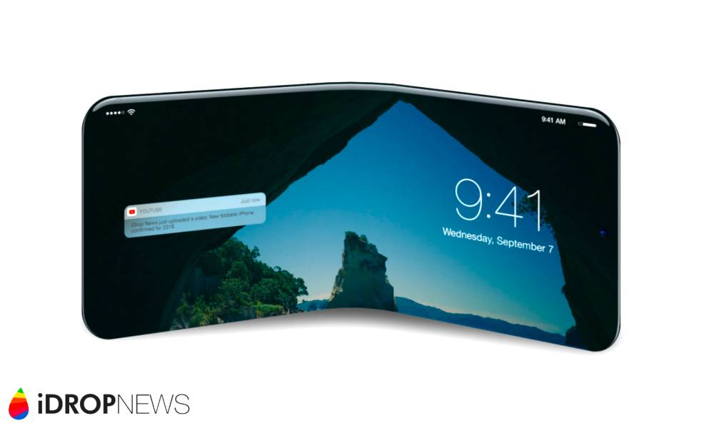 Foldable Iphone Concept Image Idrop News