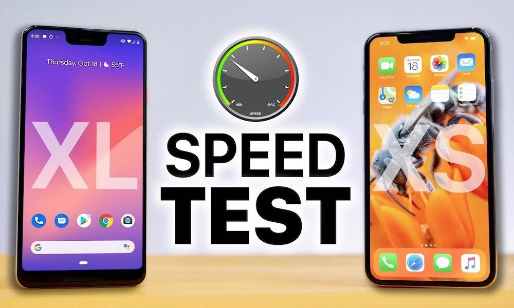 Iphone Xs Max Vs Google Pixel 3 Xl Speed Test Results