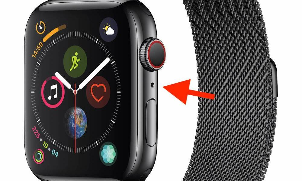 Apple Watch Series 4 Holes