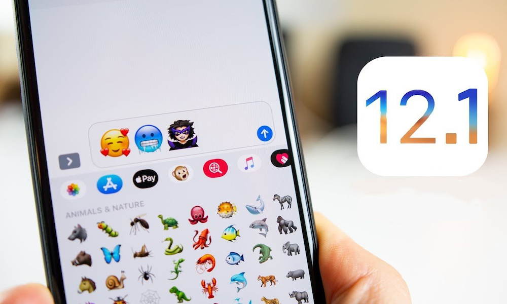 Ios 12 1 Officially Released