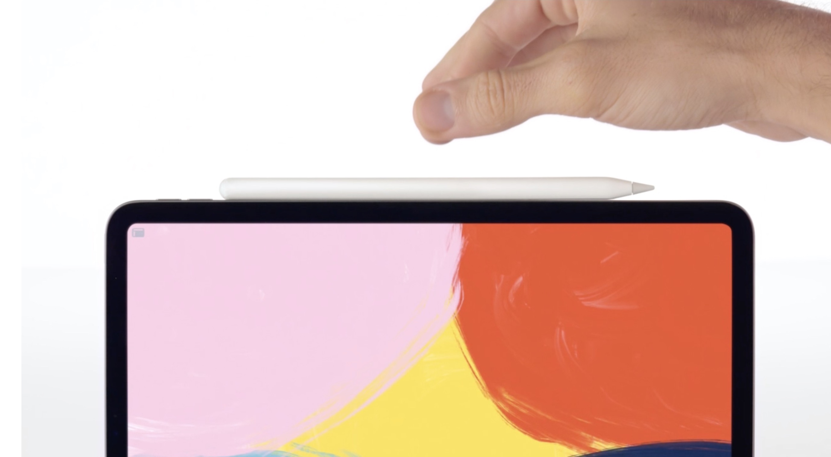 New Apple Pencil Magnetically Attaches To Ipad Pro Pairs