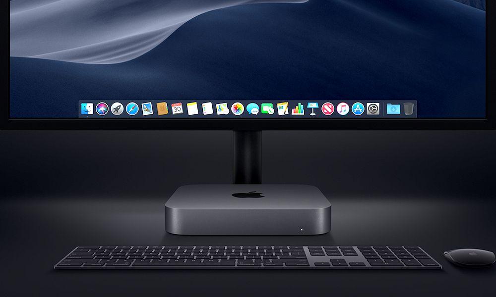 Mac Mini Desktop Setup Display 10302018