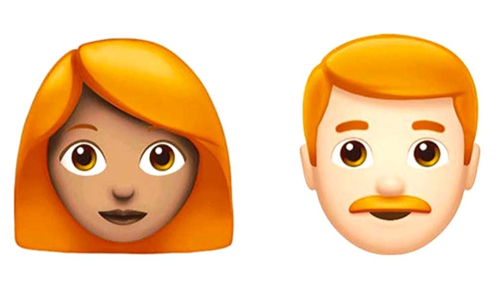 Redhead Emoji Ios 12