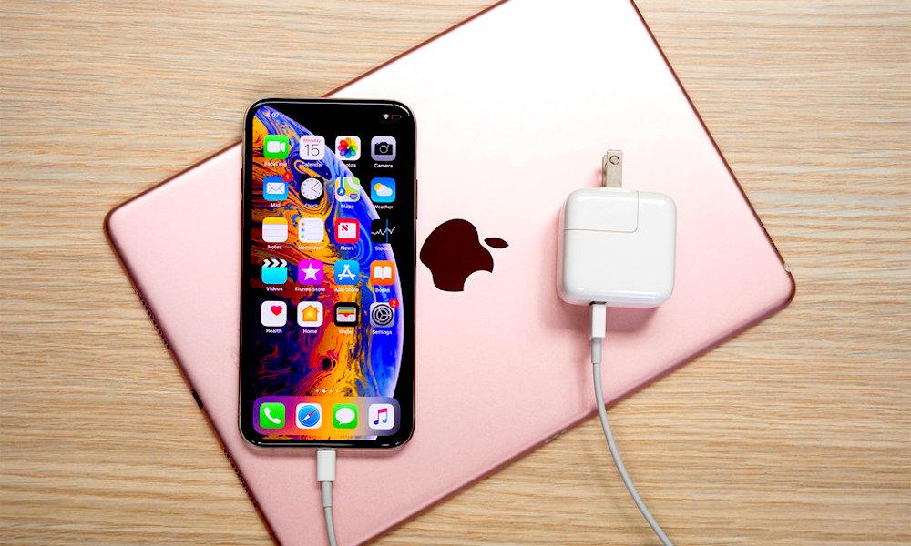Iphone Xs Battery Charging Lightning Ipad