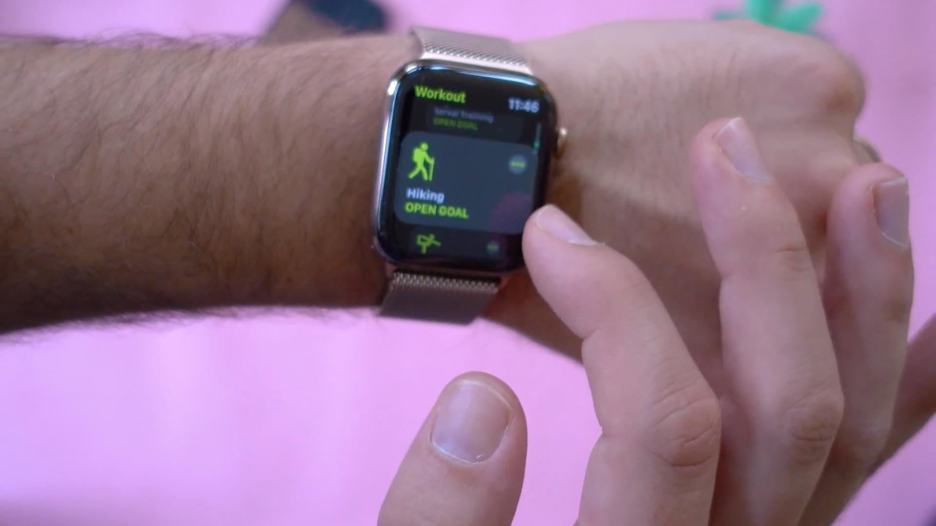 Hiking Workout App Watchos 5